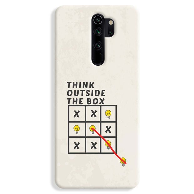 Think Outside the Box Redmi Note 8 Pro Case