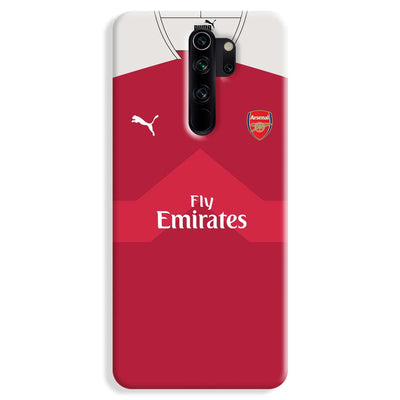 Arsenal F.C. Jersey Redmi Note 8 Pro Case