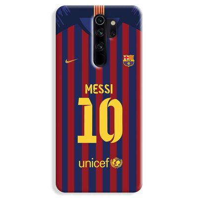 Messi (FC Barcelona) Jersey Redmi Note 8 Pro Case