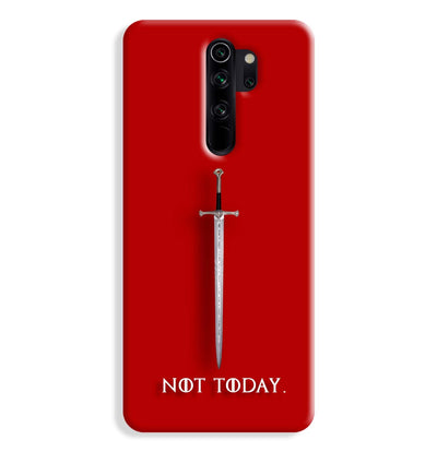 Not Today Redmi Note 8 Pro Case