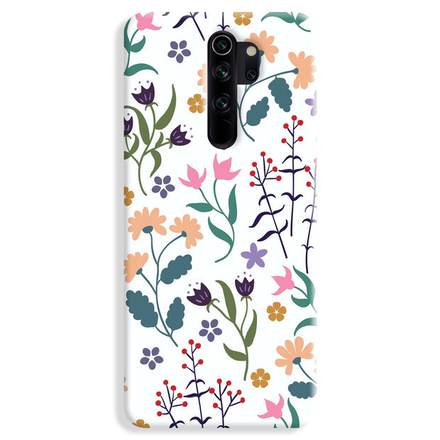 Floral Seamless Pattern Redmi Note 8 Pro Case
