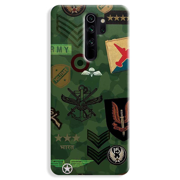 Indian Army Redmi Note 8 Pro Case