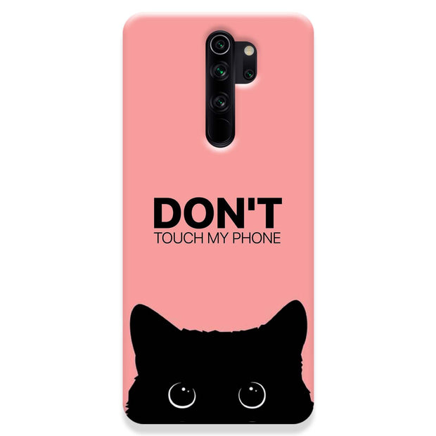 Don't Touch My Phone Redmi Note 8 Pro Case