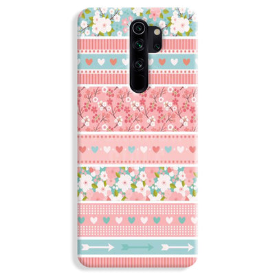 Pink Washi Tape Redmi Note 8 Pro Case