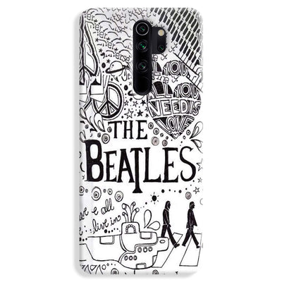 The Beatles Redmi Note 8 Pro Case