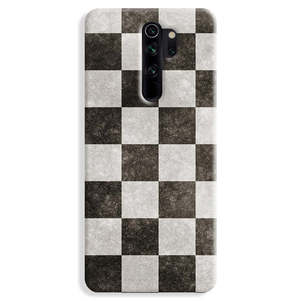 Checkered Redmi Note 8 Pro Case