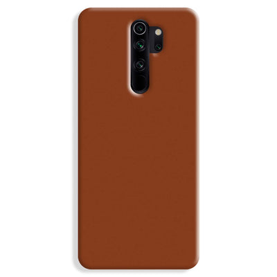 Brown Redmi Note 8 Pro Case