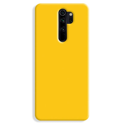 Yellow Crome Redmi Note 8 Pro Case