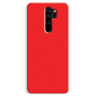 Red Redmi Note 8 Pro Case