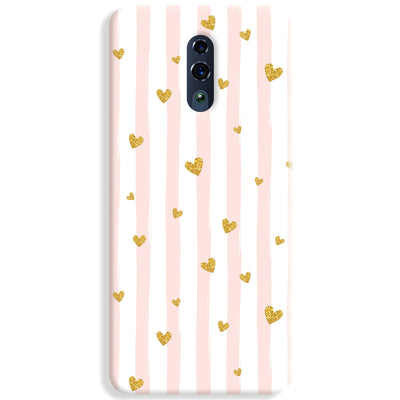 Cute Heart Pattern Oppo Reno Case