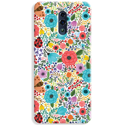 Floral Pattern Oppo Reno Case