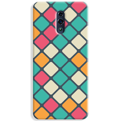 Colorful Tiles Pattern Oppo Reno Case