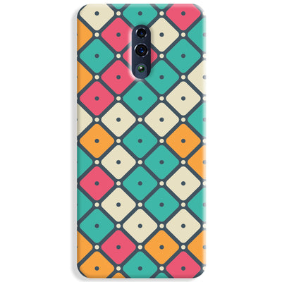 Colorful Tiles with Dot Oppo Reno Case