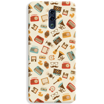 Vintage Elements Pattern Oppo Reno Case