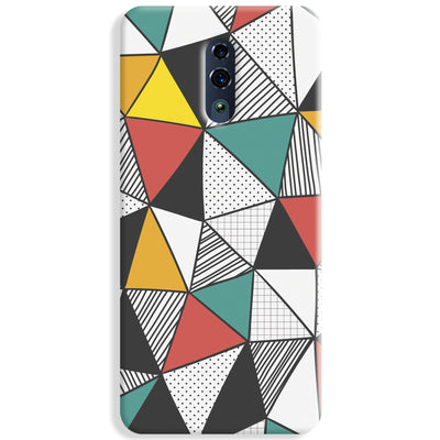 Triangle Abstract Pattern Oppo Reno Case