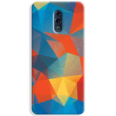Mint Color Tiles Oppo Reno Case