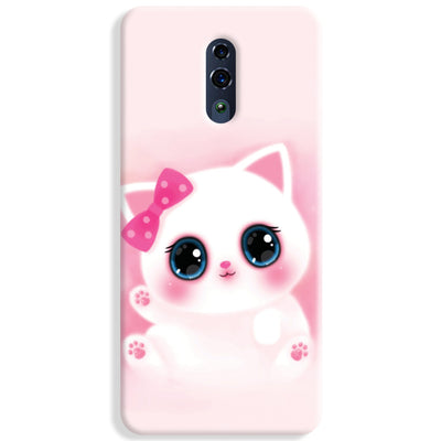 Pink Cat Oppo Reno Case