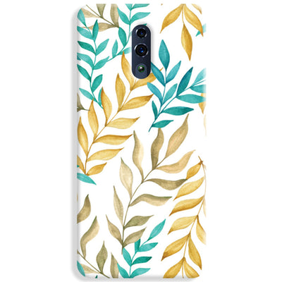 Tropical leaves  Oppo Reno Case