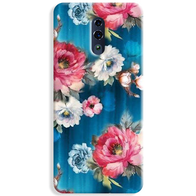 Blue Water Floral Oppo Reno Case