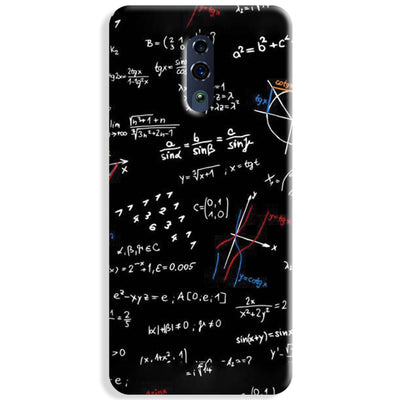 Trigonometry Pattern Oppo Reno Case
