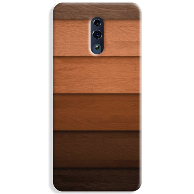 Striped Wooden Pattern Oppo Reno Case
