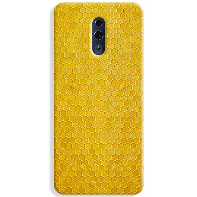Hexagen Dot Yellow Oppo Reno Case