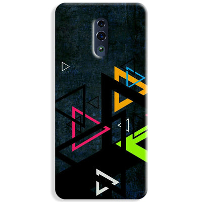 Triangular Pattern Oppo Reno Case