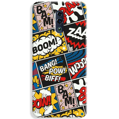 Comic Book Oppo Reno Case