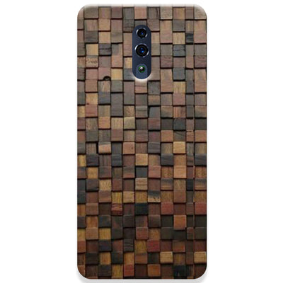 Wooden Blocks Oppo Reno Case