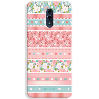 Pink Washi Tape Oppo Reno Case