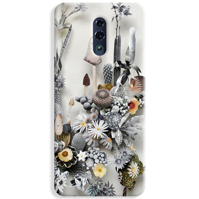 Flowers Constructions Oppo Reno Case