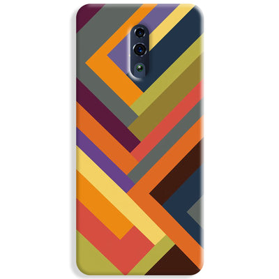 Geometric Stripes Pattern Oppo Reno Case