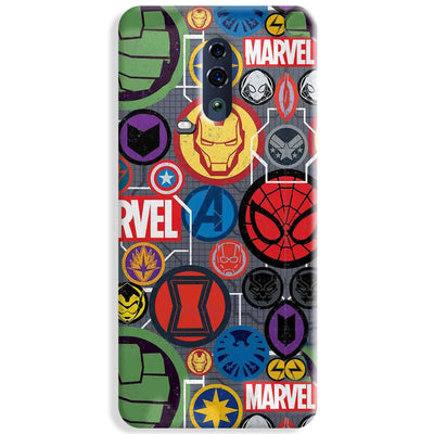 Marvel Iconic Mashup Oppo Reno Case