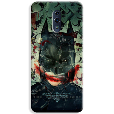 Bat Joker Oppo Reno Case