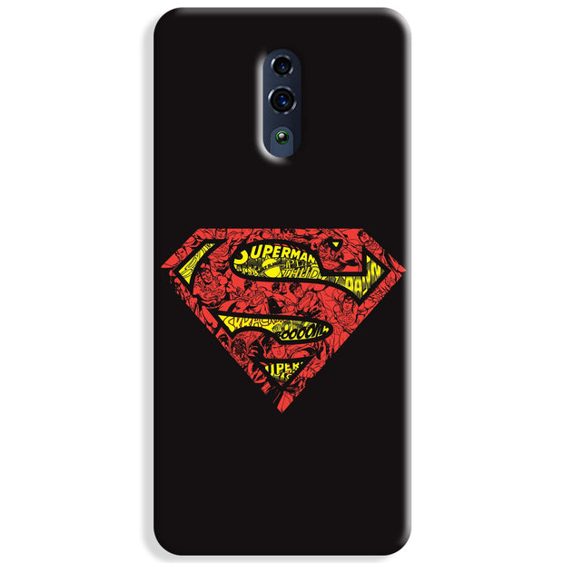 Urban Superman Logo Oppo Reno Case