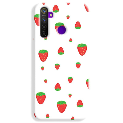 Strawberry Realme 5 Pro Case