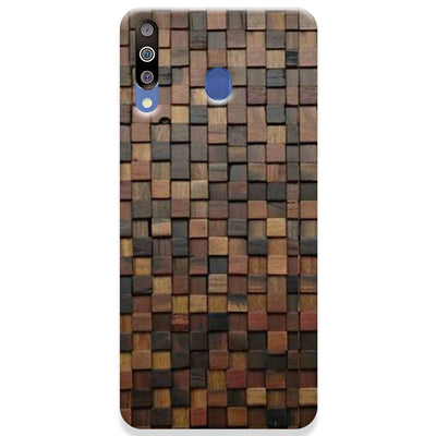 Wooden Blocks Samsung Galaxy M30 Case