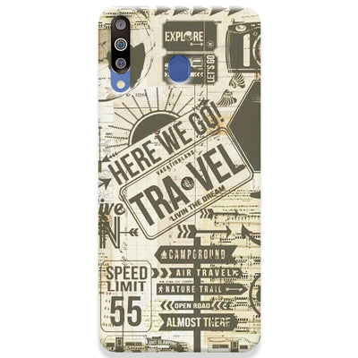 Here We Go Samsung Galaxy M30 Case