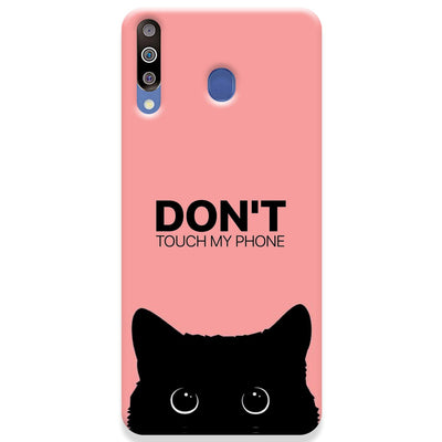 Don't Touch My Phone Samsung Galaxy M30 Case