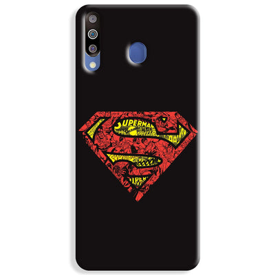 Urban Superman Logo Samsung Galaxy M30 Case