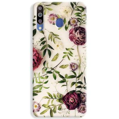 Rose Print Samsung Galaxy M30 Case