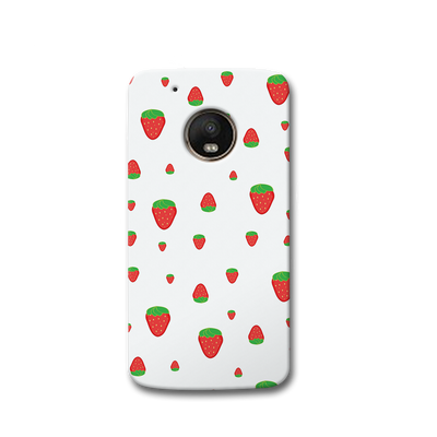 Strawberry Moto G5s Case