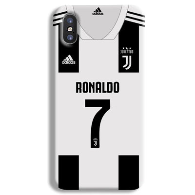 Ronaldo Juventus Home iPhone X Case