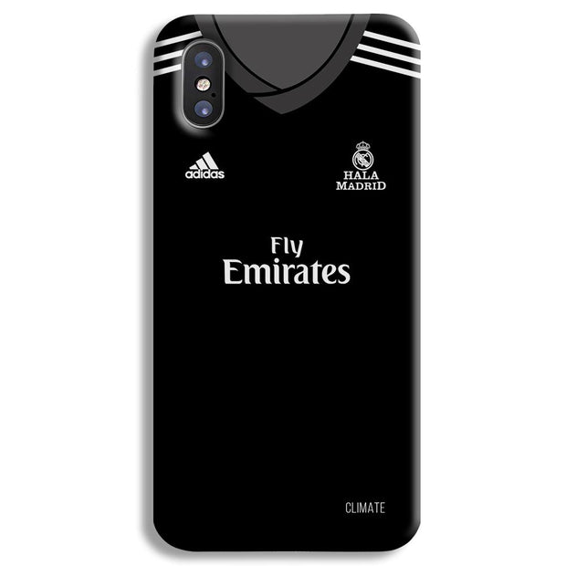 Real Madrid Away iPhone X Case