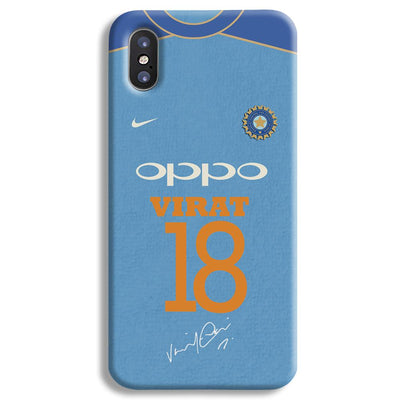 Virat Kohli Jersey iPhone X Case