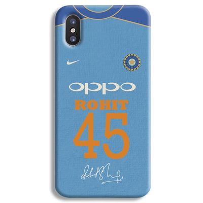 Rohit Sharma Jersey iPhone X Case