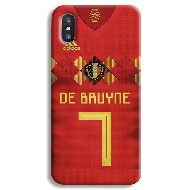 lowest price 6278b 644a9 Kevin De Bruyne Jersey iPhone X Case