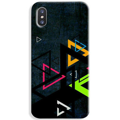 Triangular Pattern iPhone X Case