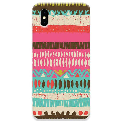 Color Pile iPhone X Case