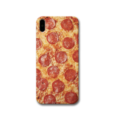 Pepperoni Pizza Apple iPhone X Case